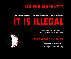 Sex for marks is illegal